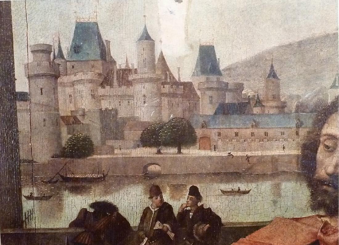 Vue Du Chateau Du Louvre