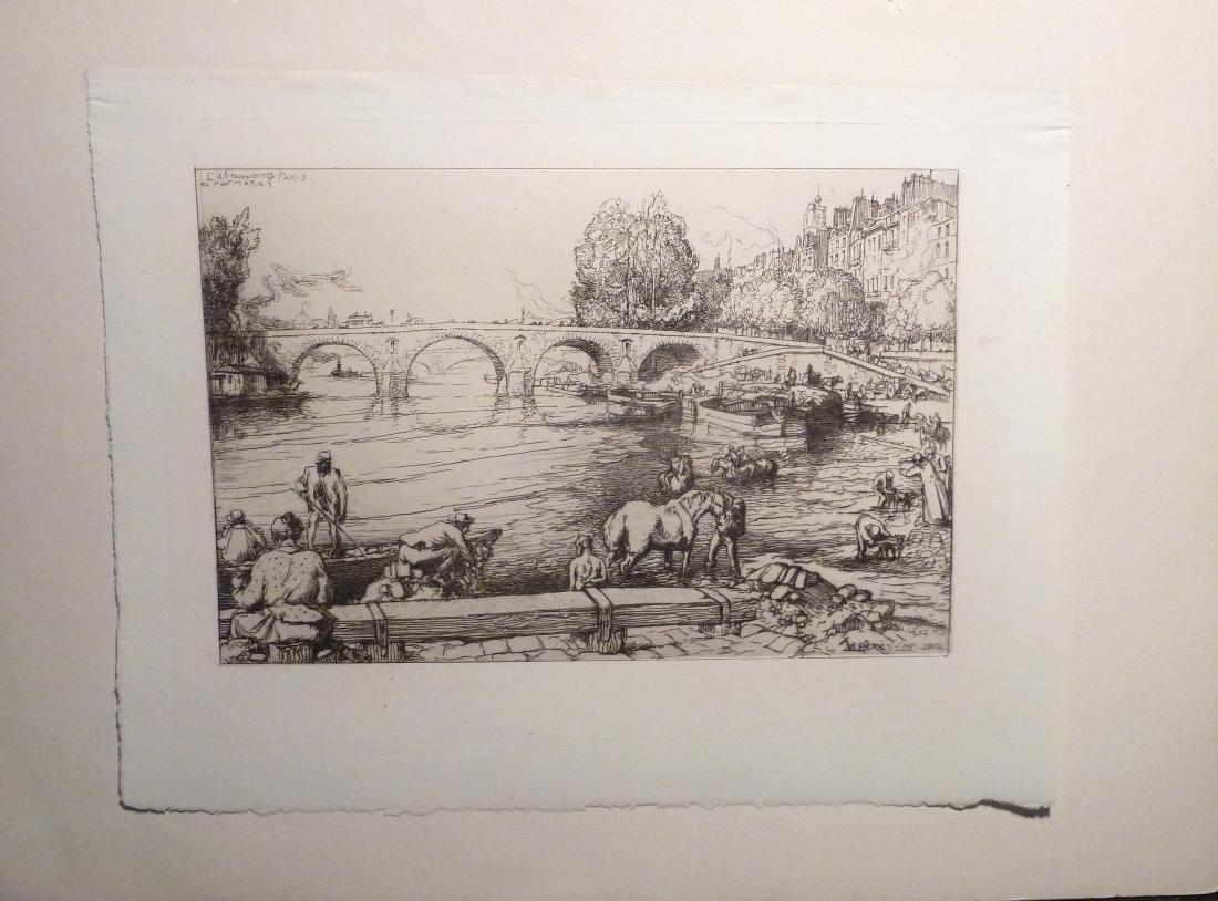 L'Abreuvoir Au Pont Marie