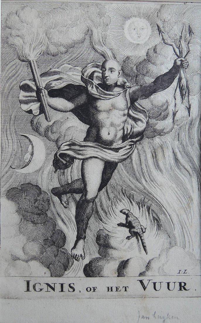 Jan van Luyken Engraving (Dutch 1649-1712) - 2