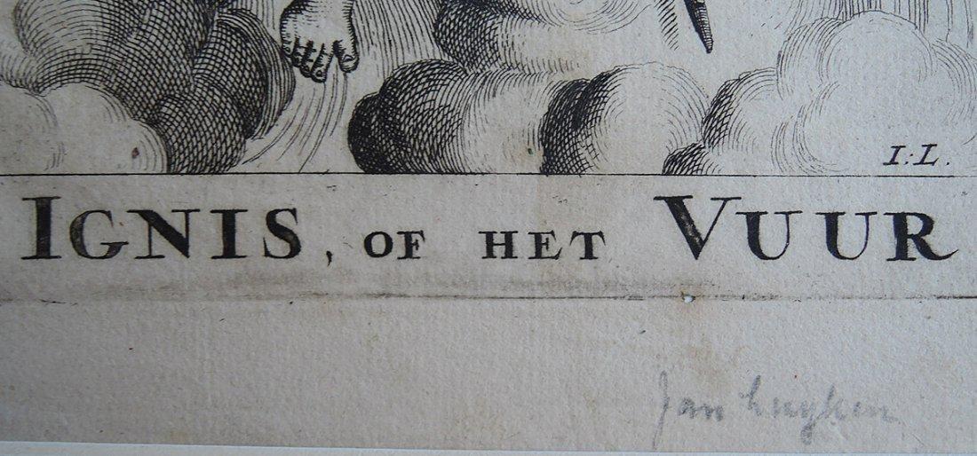 Jan van Luyken Engraving (Dutch 1649-1712) - 7