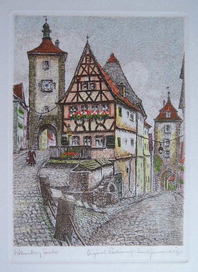 Ernst Geissendorfer (Germany 1908 -1993) - 2