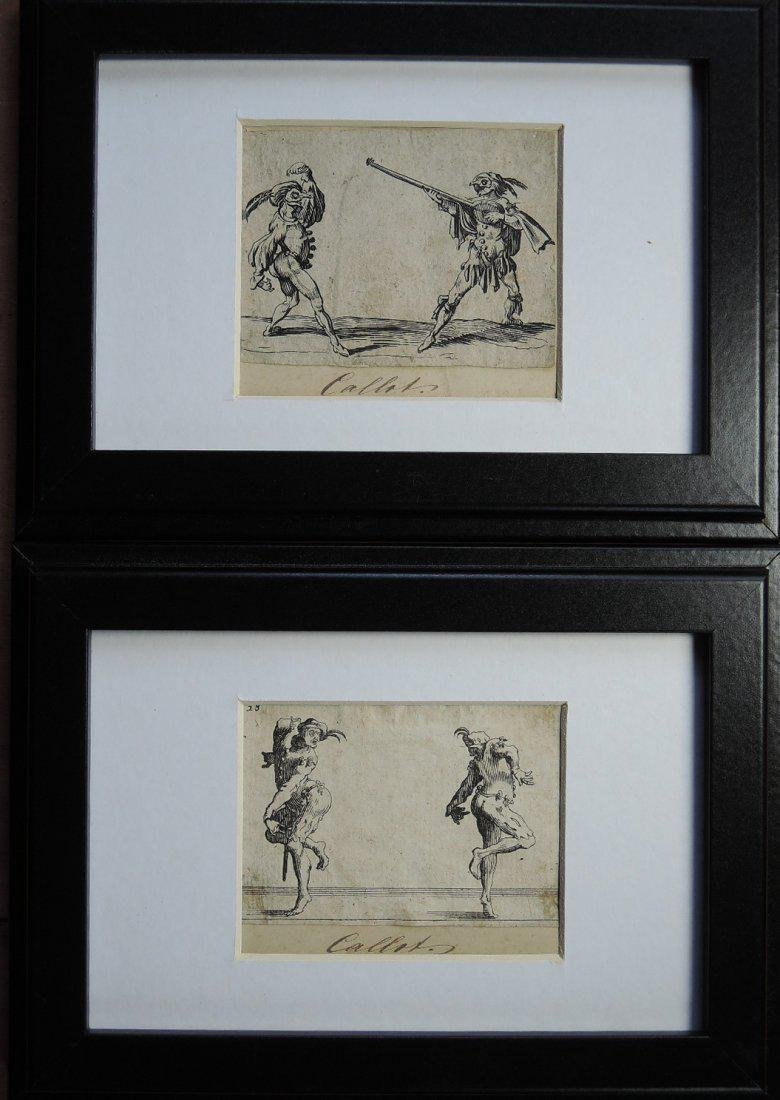 Jacques Callot Etchings (French 1592-1635)