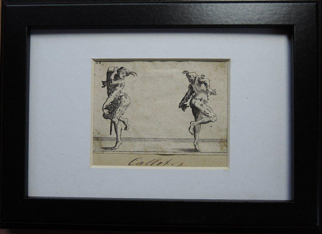 Jacques Callot Etchings (French 1592-1635) - 2