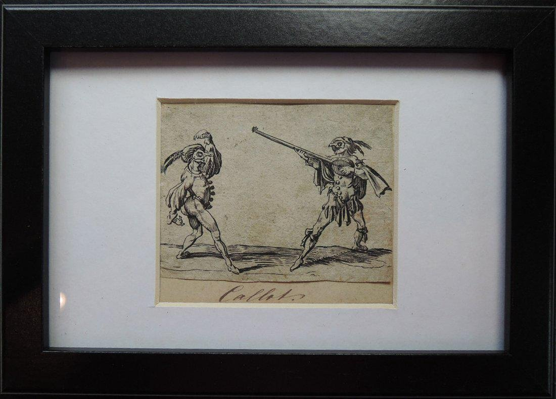 Jacques Callot Etchings (French 1592-1635) - 3