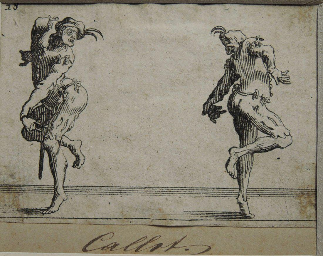 Jacques Callot Etchings (French 1592-1635) - 4