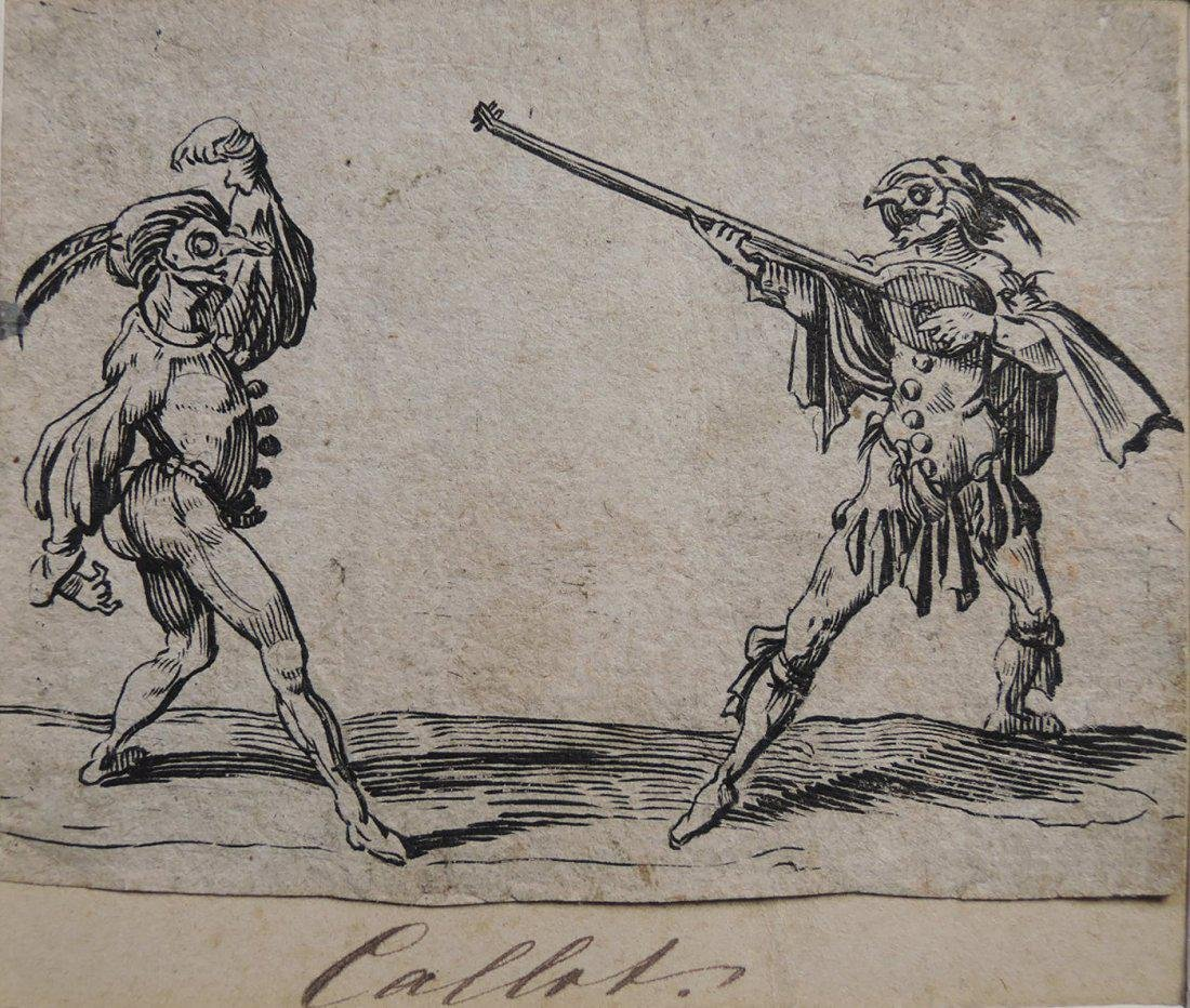 Jacques Callot Etchings (French 1592-1635) - 7