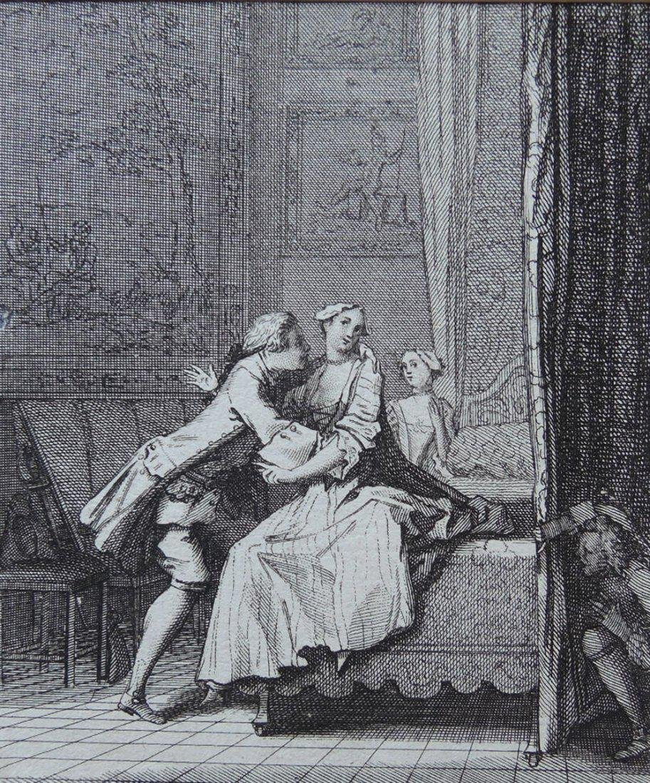 Two 18th Century Etchings - 2