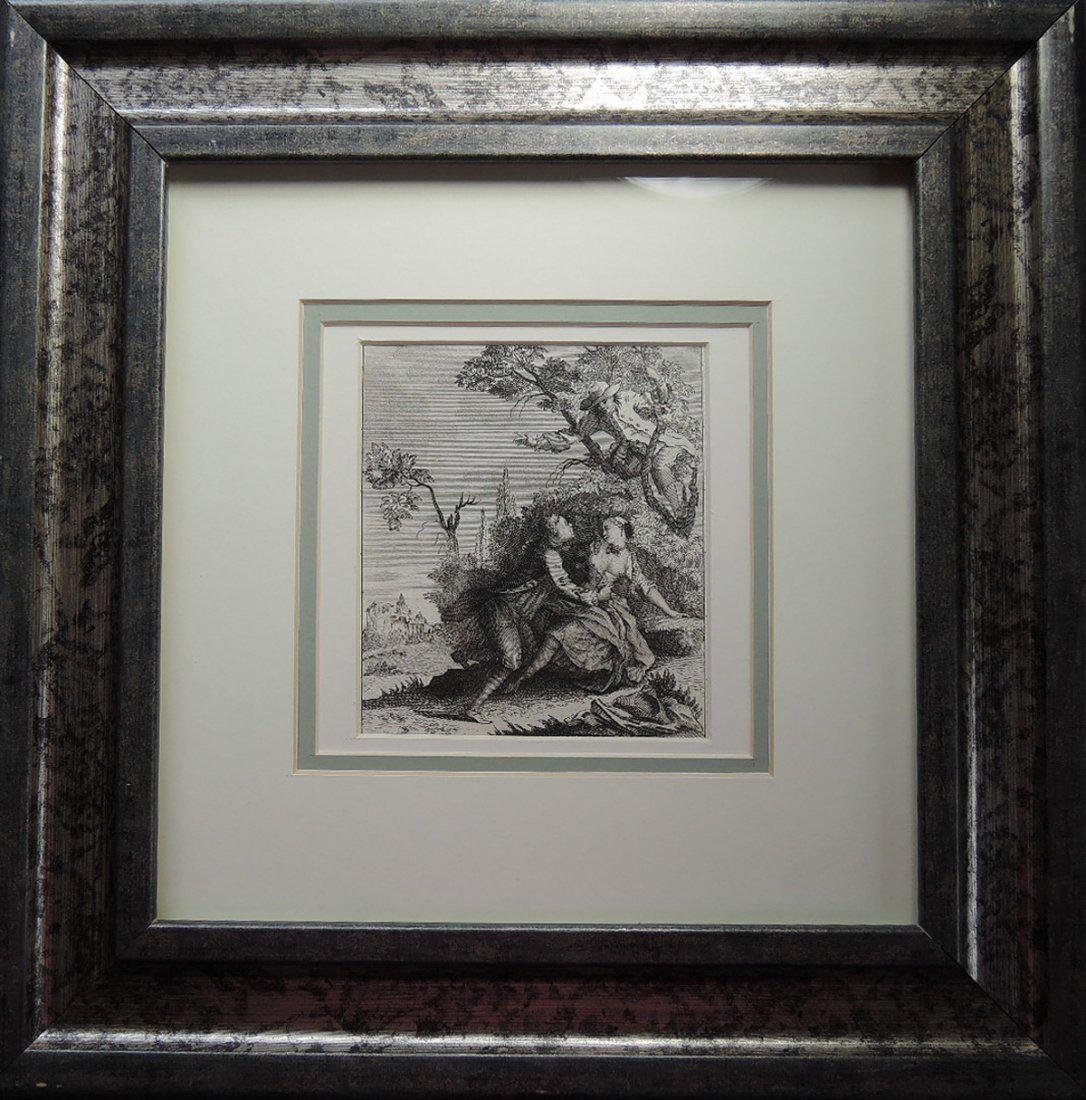 Two 18th Century Etchings - 4