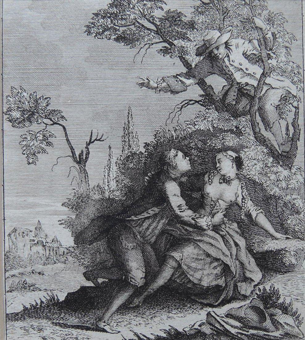 Two 18th Century Etchings - 5