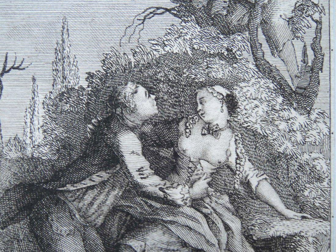 Two 18th Century Etchings - 6
