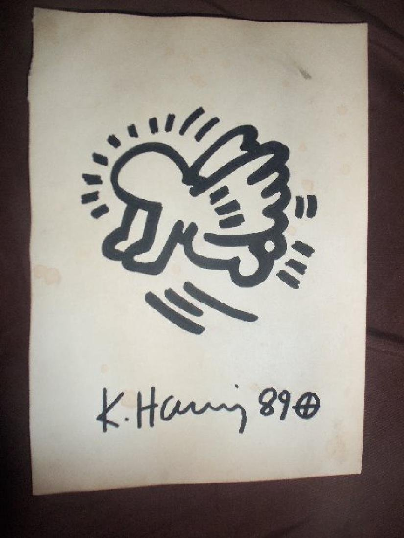 Keith Haring Flying Radiant Baby