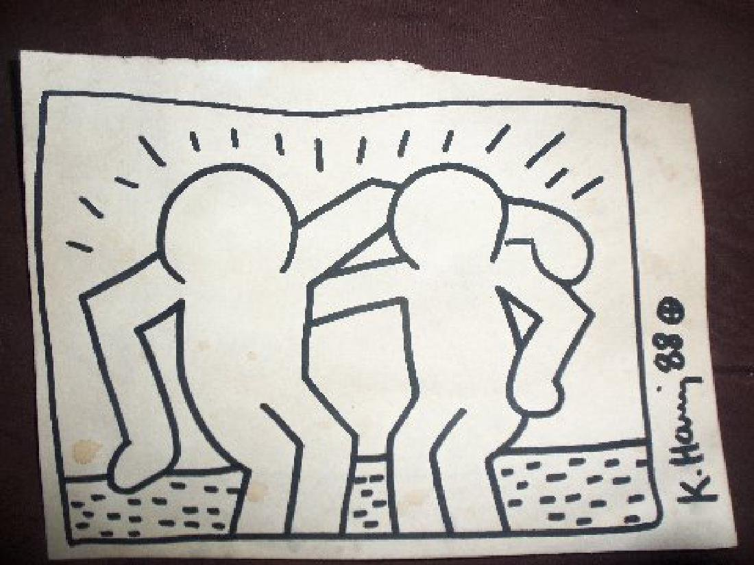 Keith Haring Best Buddies