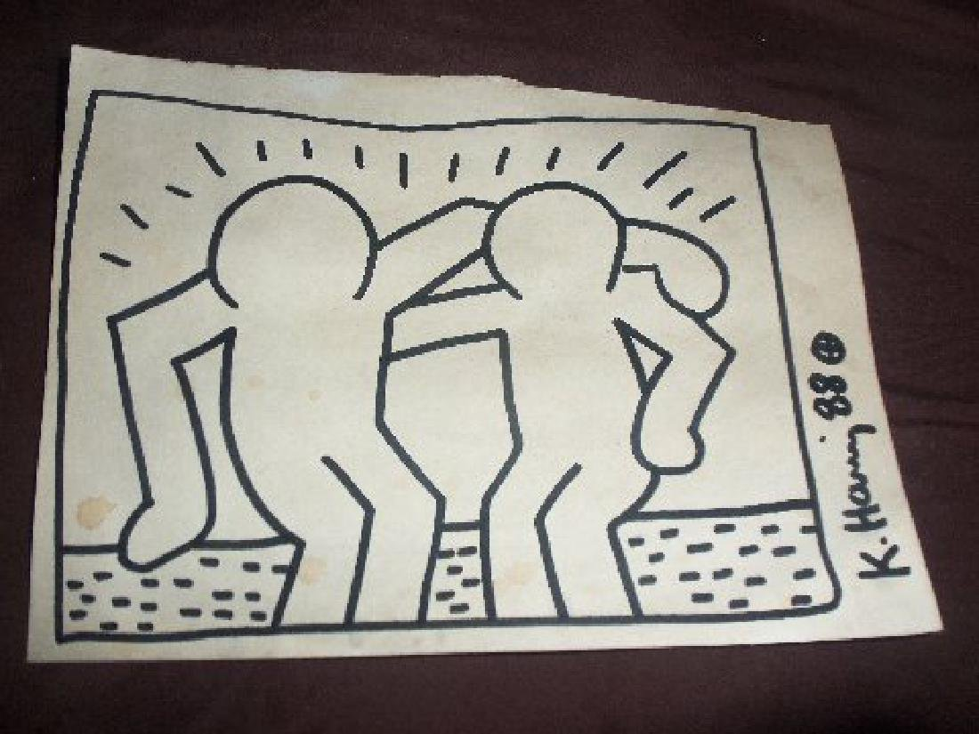 Keith Haring Best Buddies - 2