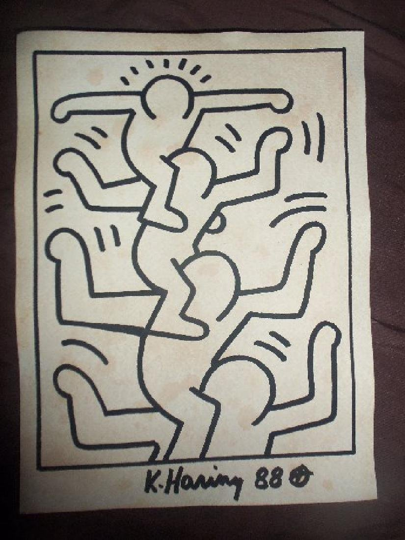 Keith Haring Stacked Men - 2