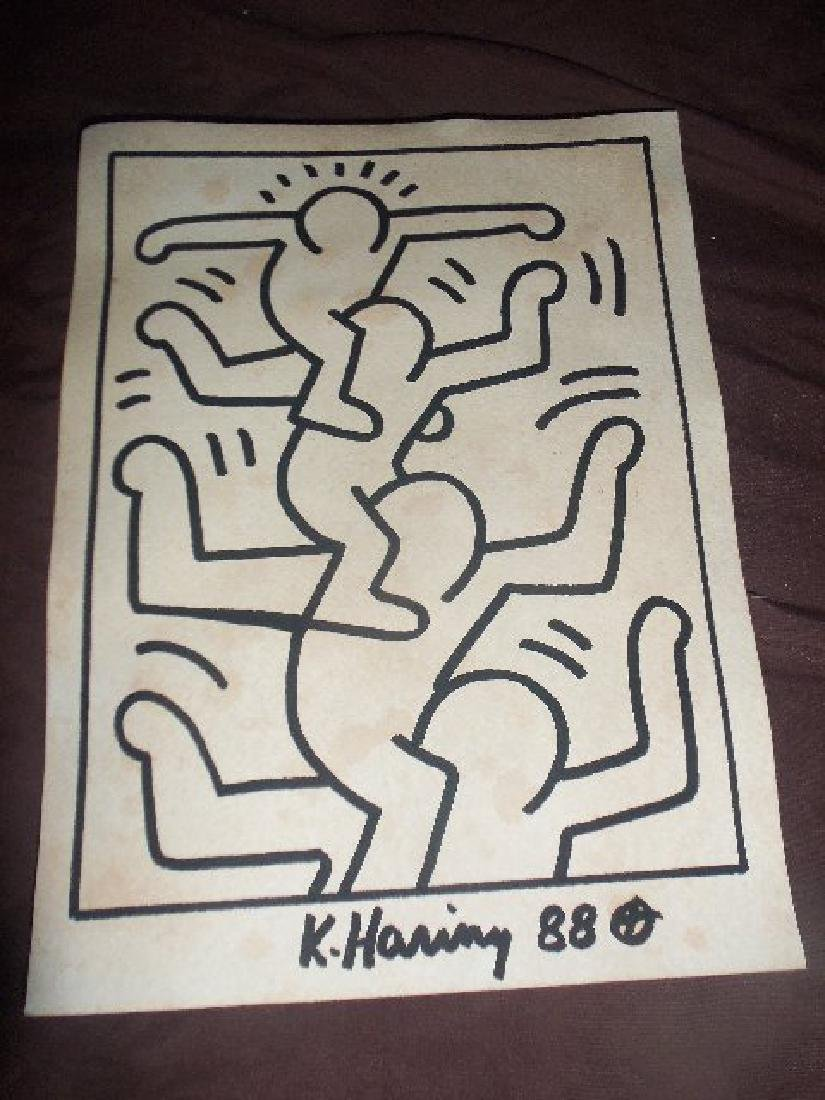 Keith Haring Stacked Men - 3