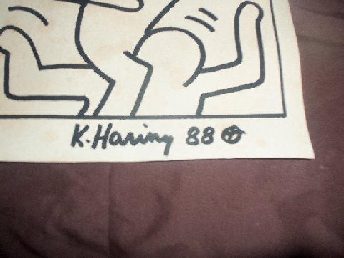 Keith Haring Stacked Men - 4