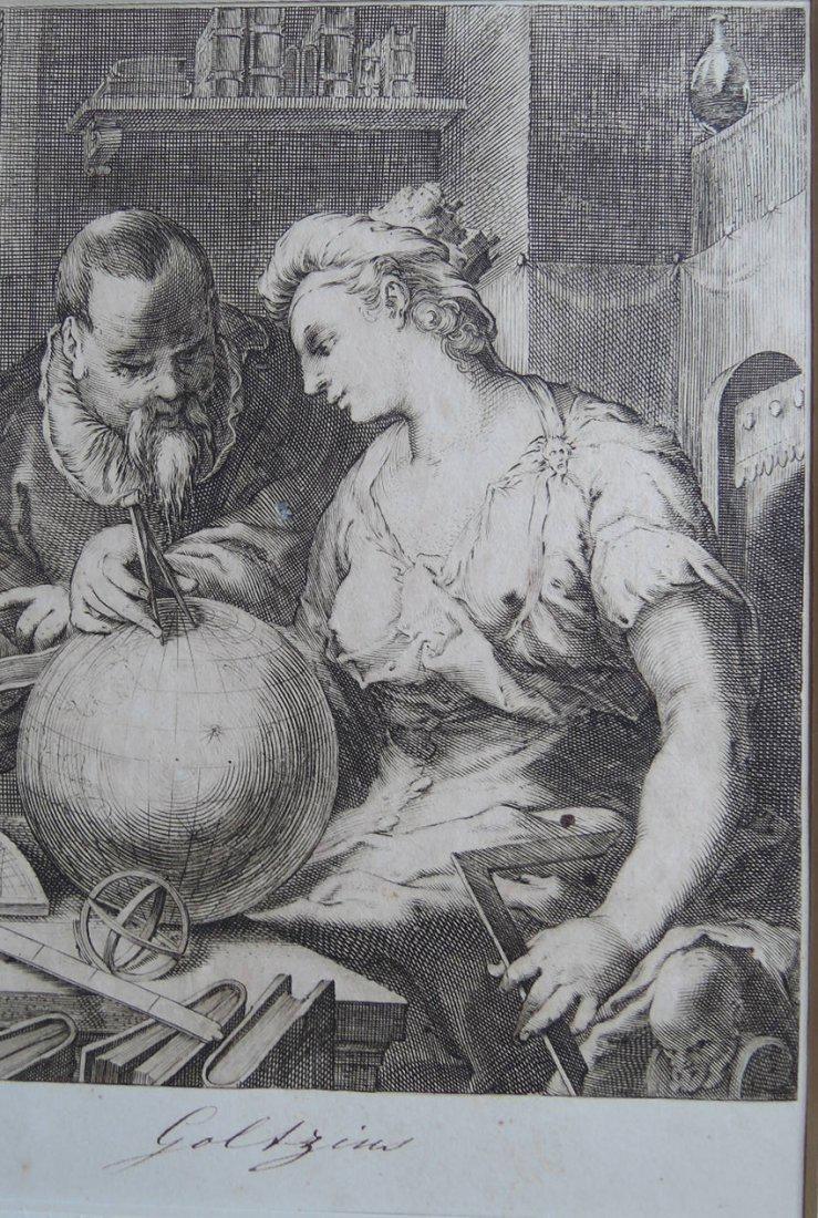 Hendrik Goltzius Engraving (Dutch 1558 - 1617) - 2
