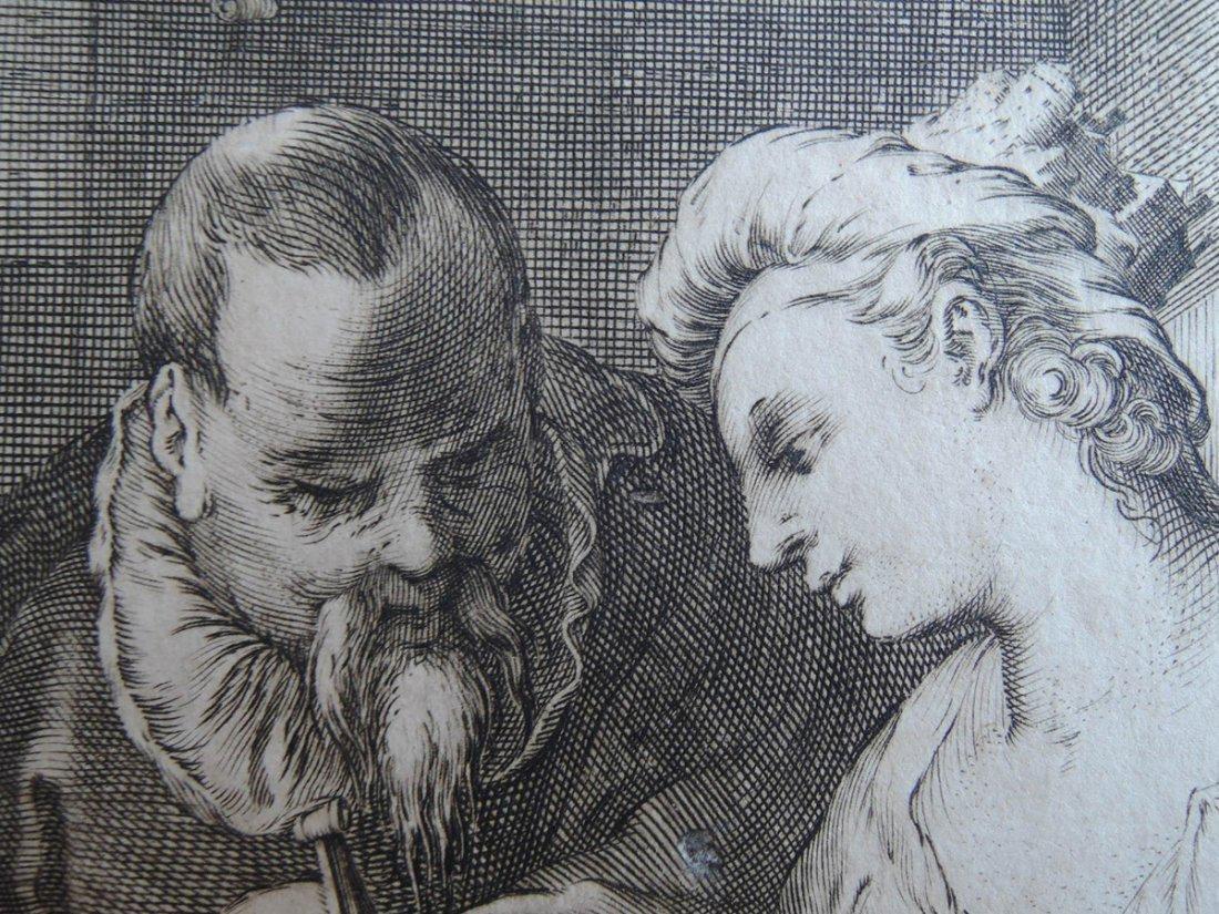 Hendrik Goltzius Engraving (Dutch 1558 - 1617) - 3