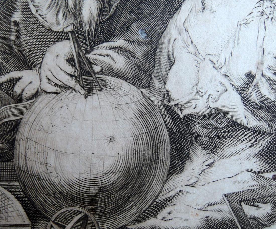 Hendrik Goltzius Engraving (Dutch 1558 - 1617) - 5