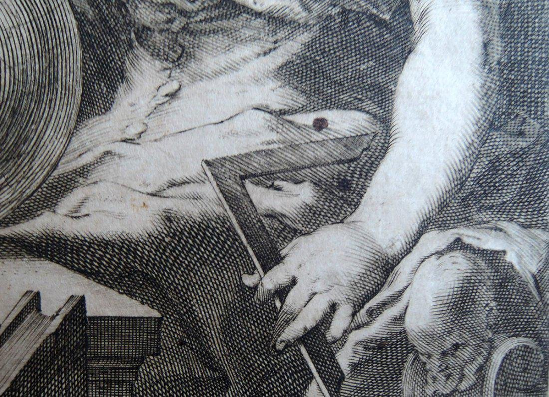 Hendrik Goltzius Engraving (Dutch 1558 - 1617) - 6
