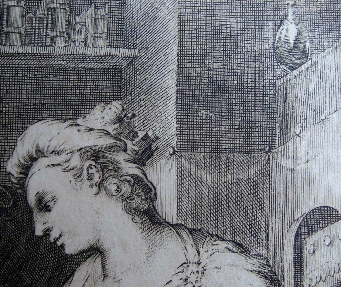 Hendrik Goltzius Engraving (Dutch 1558 - 1617) - 7