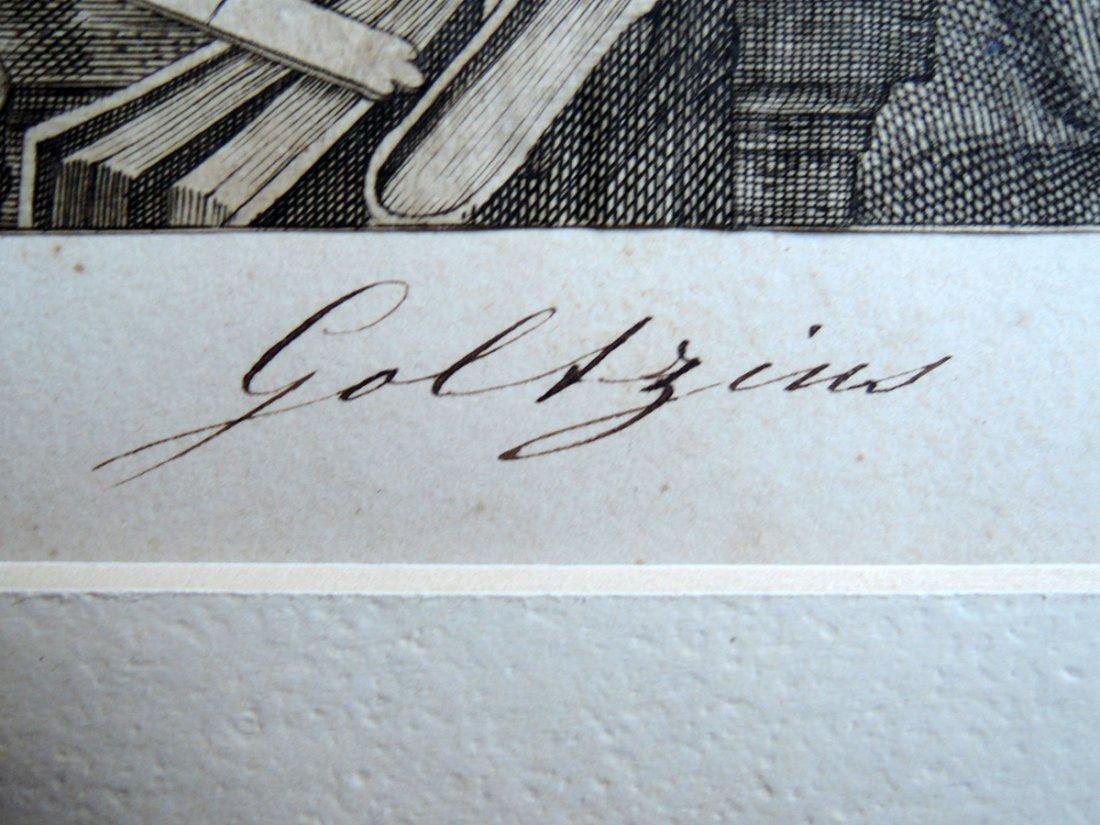Hendrik Goltzius Engraving (Dutch 1558 - 1617) - 9