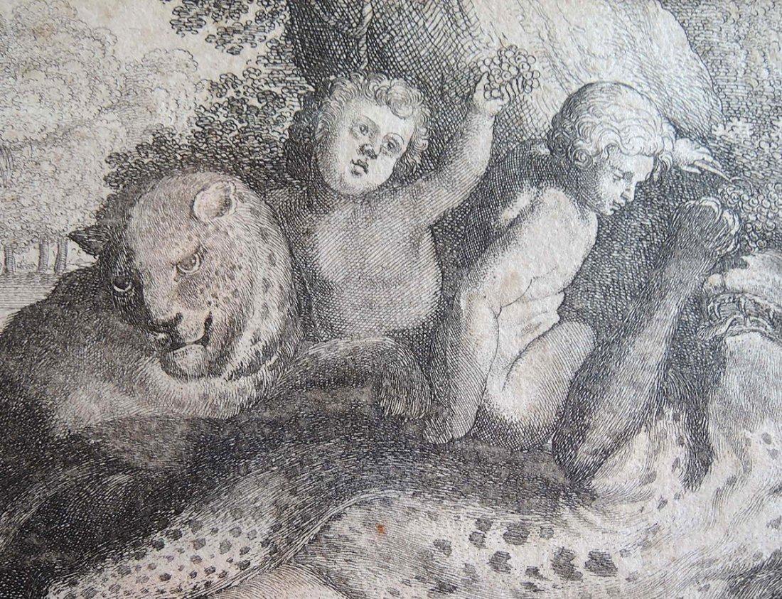 Peter Paul Rubens Etching (Flemish 1577-1640) - 3