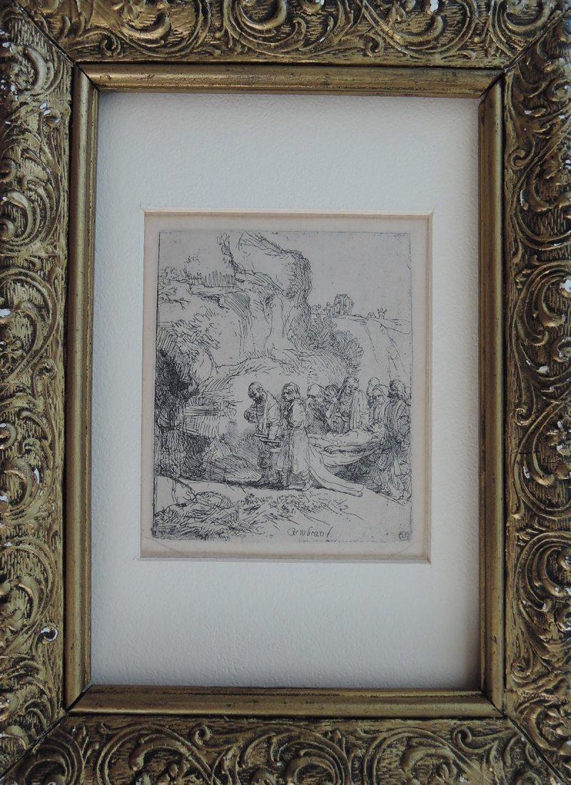 Rembrandt van Rijn Etching (Dutch 1606-1669)