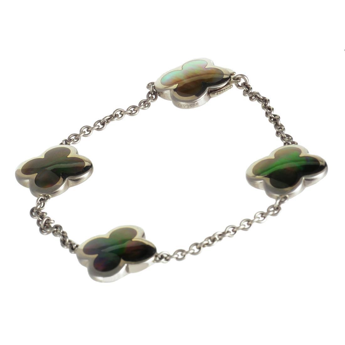 Van Cleef & Arpels Alhambra 18K Black MOP Bracelet