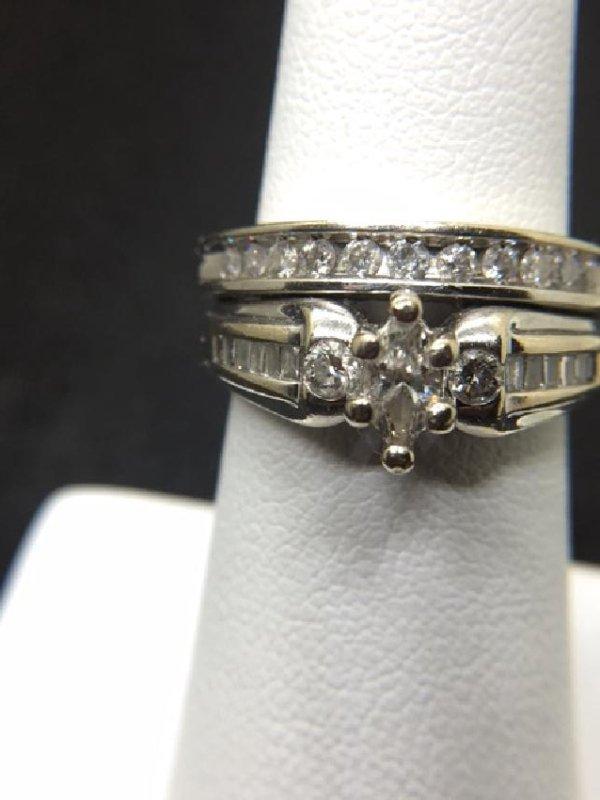 14K Gold Diamond Engagment Ring