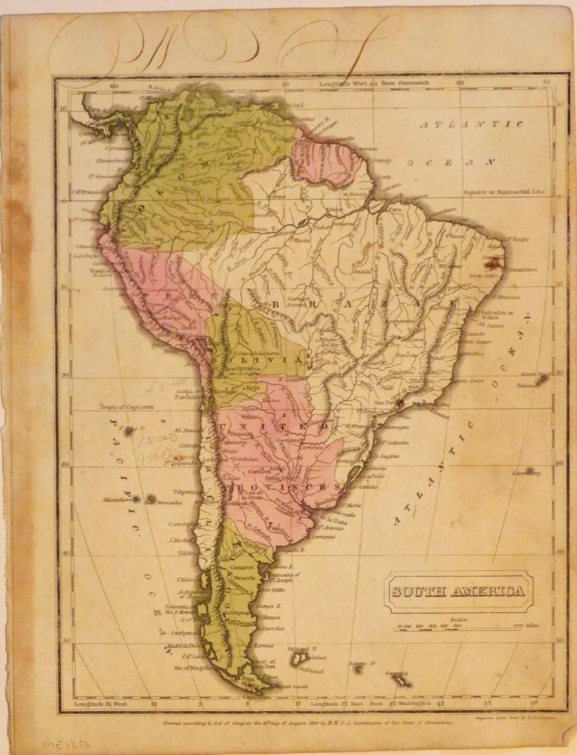 Huntington, South America, 1833