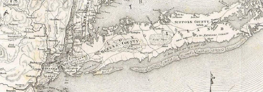 Map of the Province of New York in 1779 - 2