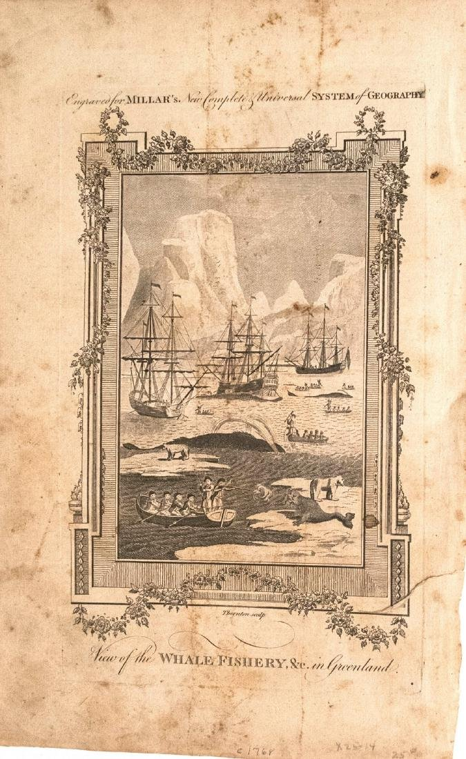 1768 Whale Fishery in Greenland