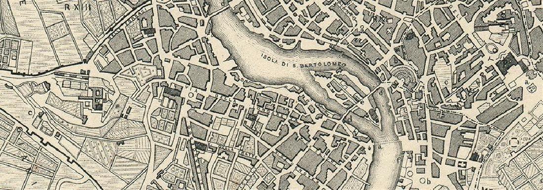 Map of Modern Rome - 2