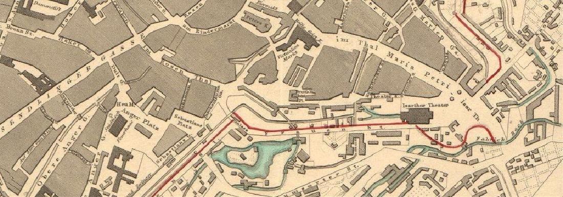 Map of Munich - 2