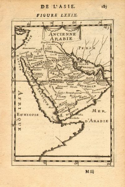 Map of Ancienne Arabie