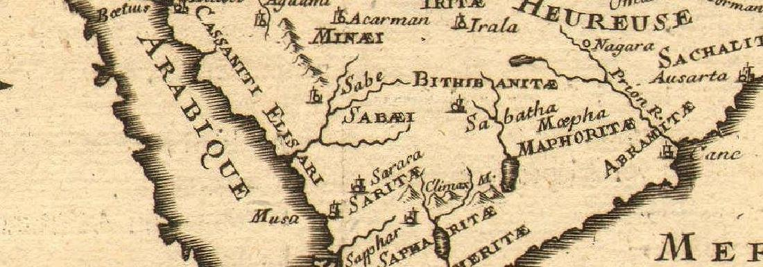 Map of Ancienne Arabie - 2