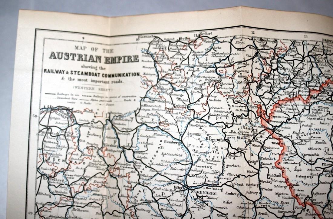 Karl Baedeker Handbook with Maps: Austria. 1896 - 8