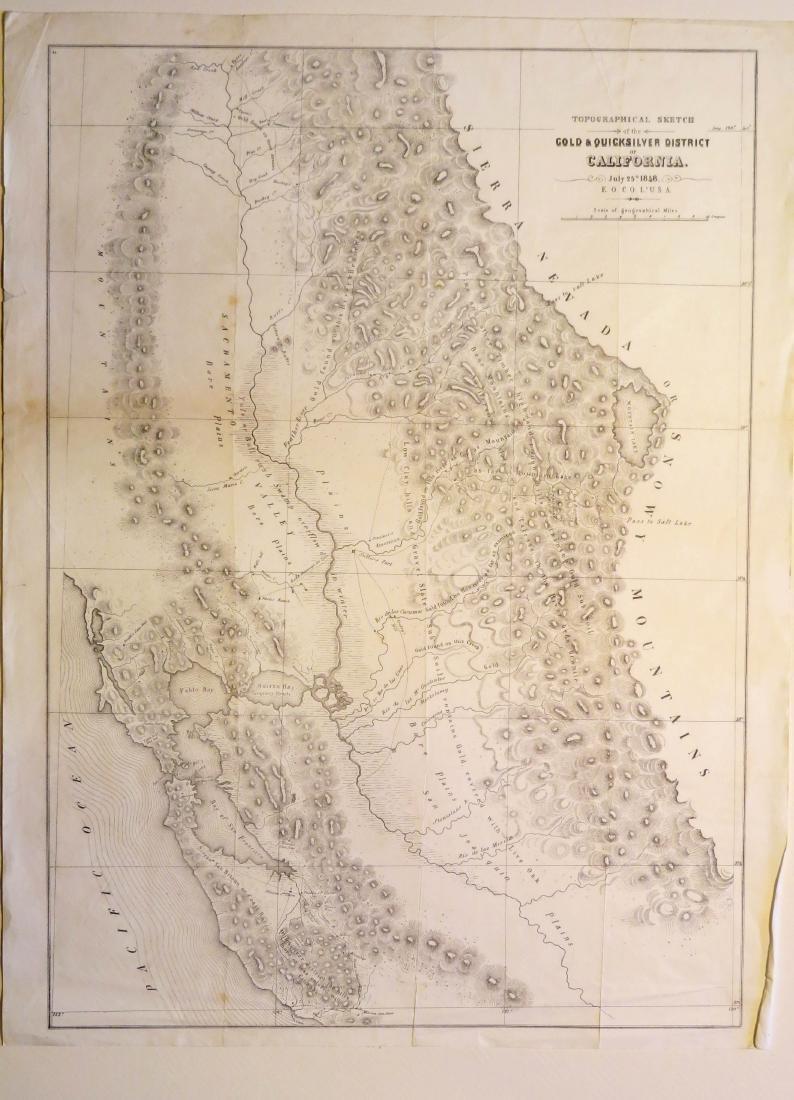 California Gold and Quicksilver District, 1848