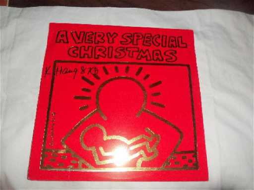 keith haring a very special christmas lp - A Very Special Christmas