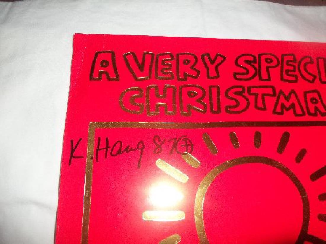 Keith Haring A Very Special Christmas LP. - 2