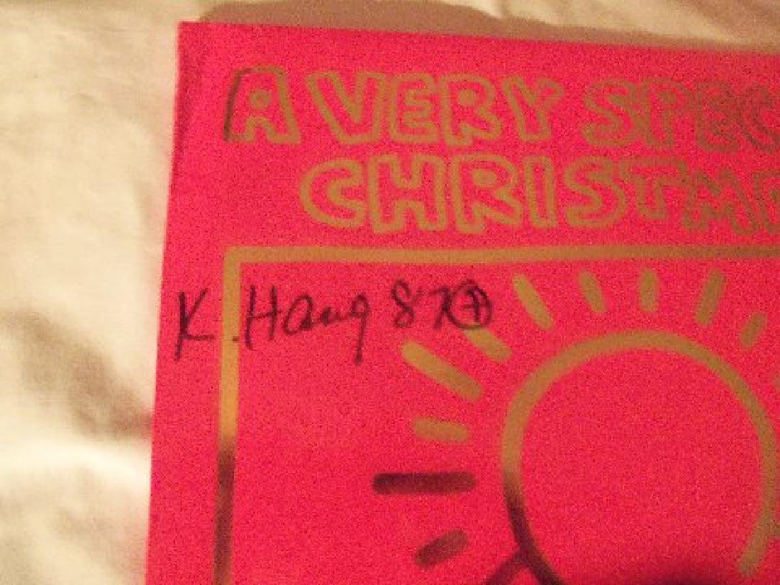 Keith Haring A Very Special Christmas LP. - 3