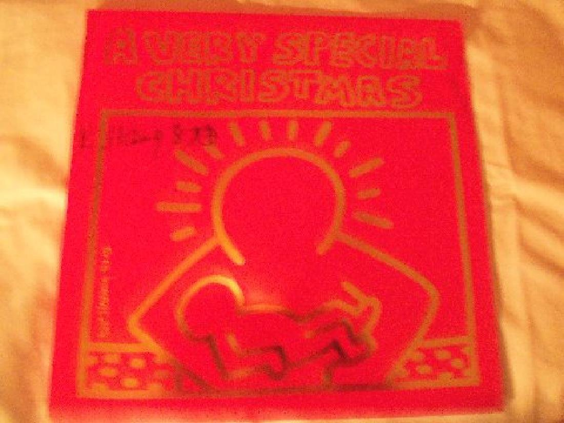 Keith Haring A Very Special Christmas LP. - 4