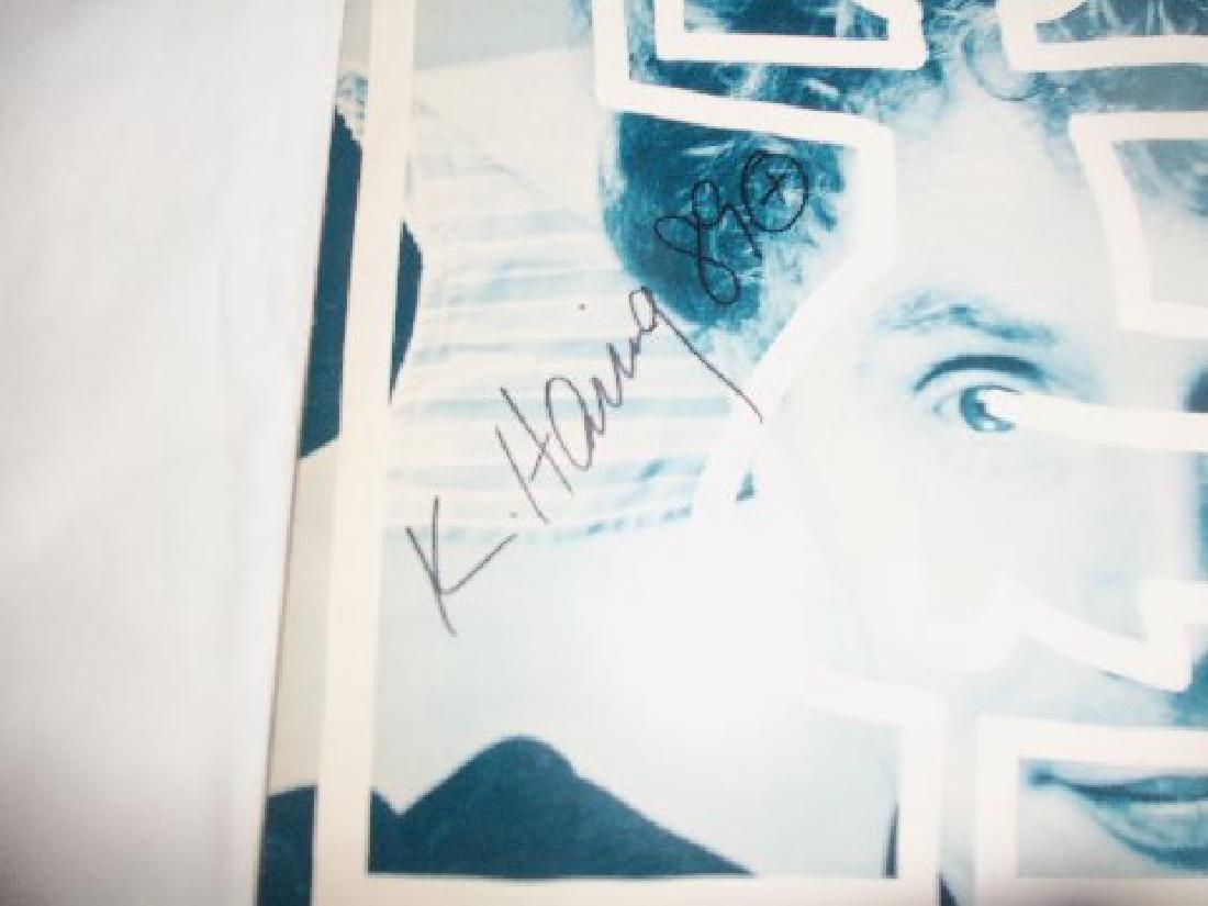"Keith Haring Signed Malcolm Mclaren ""Duck Rock"" LP - 2"