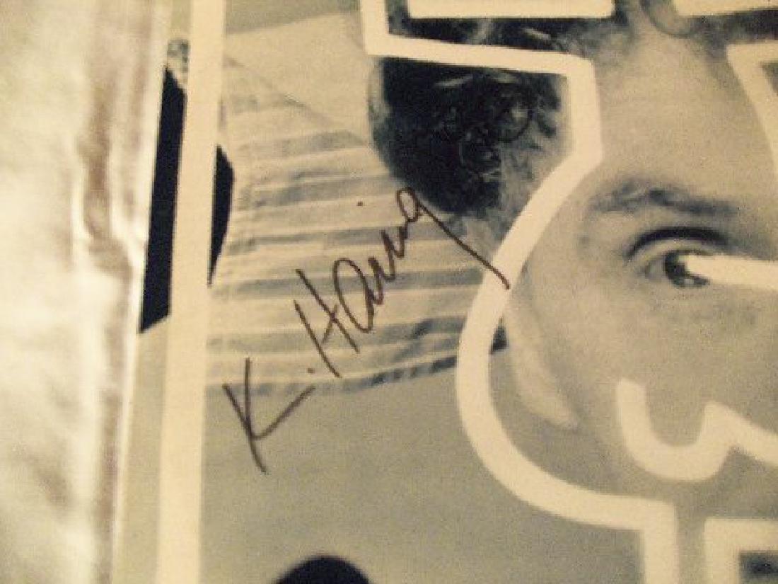 "Keith Haring Signed Malcolm Mclaren ""Duck Rock"" LP - 4"