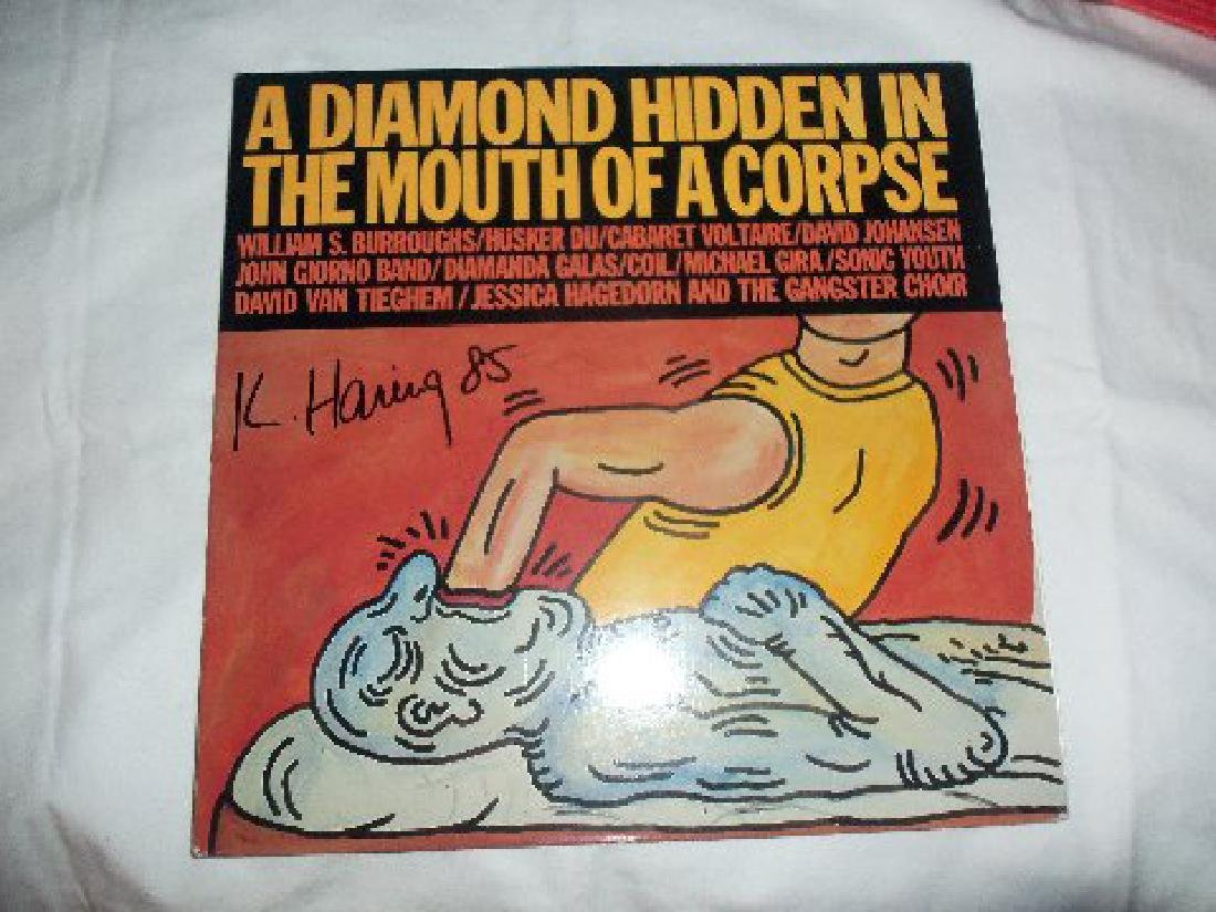 Keith Haring A Diamond Hidden In Mouth Of A Corpse LP