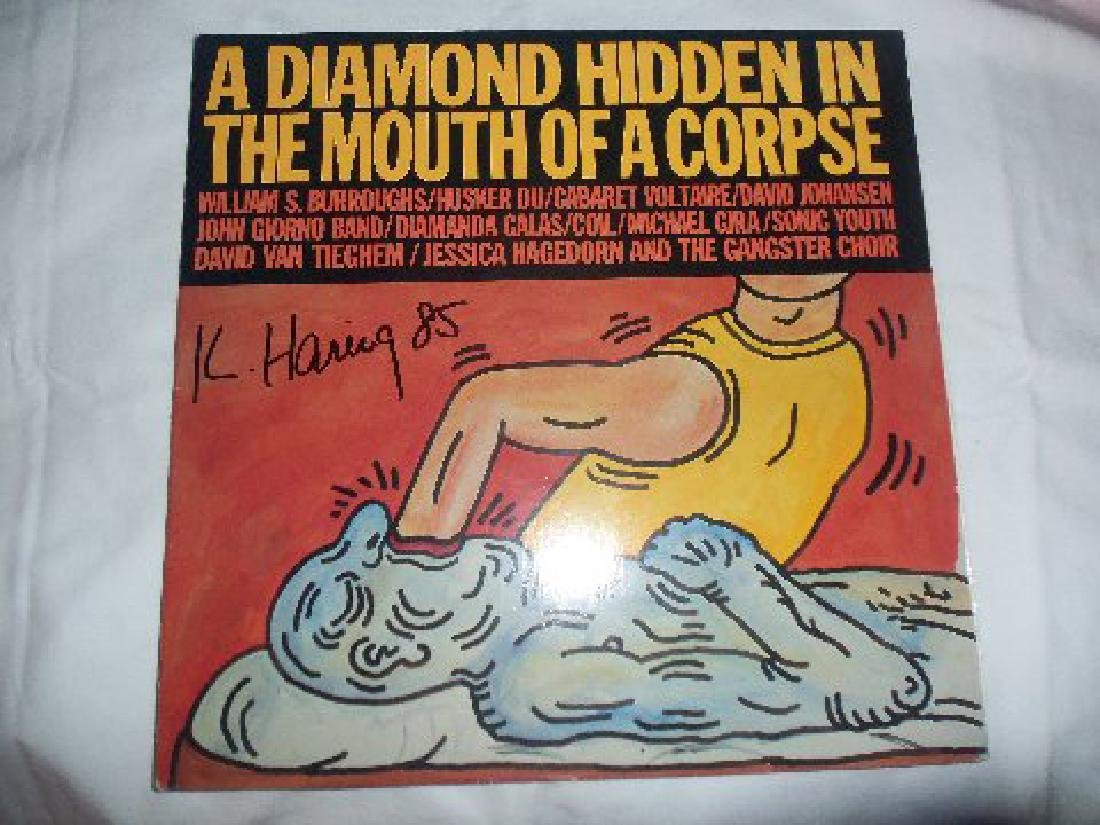 Keith Haring A Diamond Hidden In Mouth Of A Corpse LP - 2