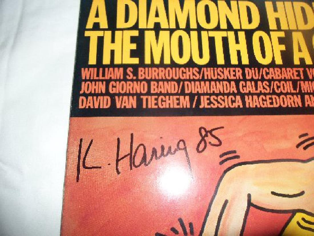 Keith Haring A Diamond Hidden In Mouth Of A Corpse LP - 3