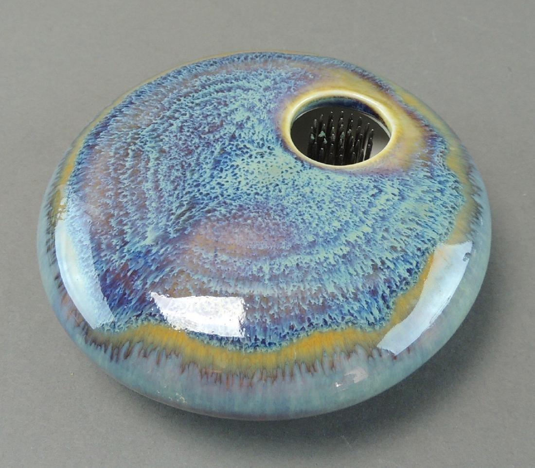 Georgetown Pottery Ikebana Flower Frog Vase - 3