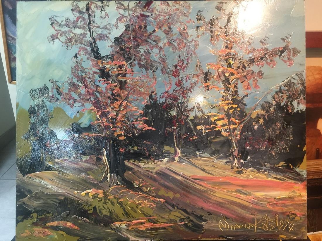Morris Katz: Spring, 1994